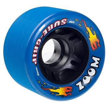 Roues Roller Quad (Pack de 8) SURE GRIP Zoom Neon Blue 62 MM 96a
