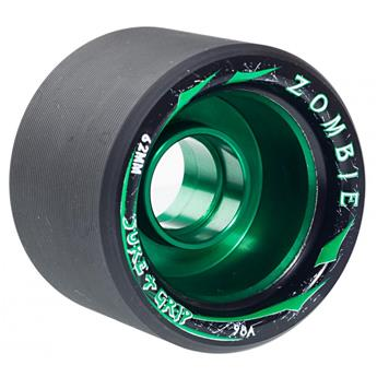 Roues Roller Quad (Pack de 4) SURE GRIP Zombie Max Green 62 MM 98a