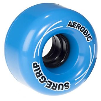 Roues Roller Quad (Pack de 8) SURE GRIP Aerobic Blue 62 MM 85a