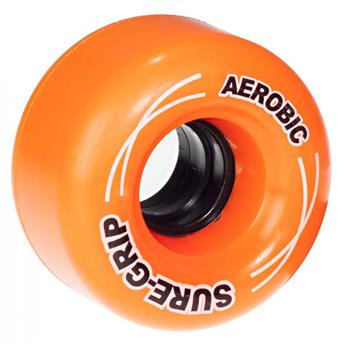 Roues Roller Quad (Pack de 8) SURE GRIP Aerobic Orange 62 MM 85a