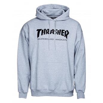 Sweat shirt THRASHER Skate Mag HOODY Grey