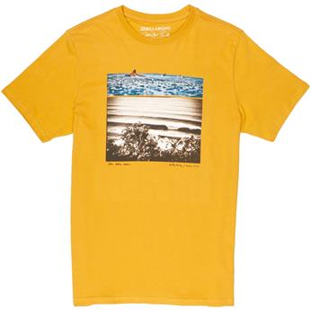 Tee Shirt BILLABONG BLUE DREAM TEE SS 54 MUSTARD