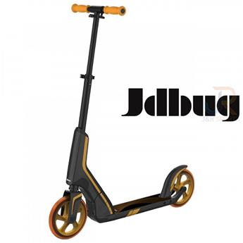 Trottinette Enfant JD BUG Smart 185 Black Orange