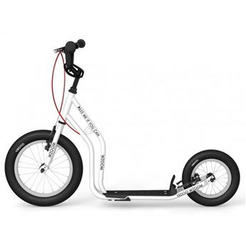 Trottinette tout terrain Footbike  Enfant YEDOO WZOOM White