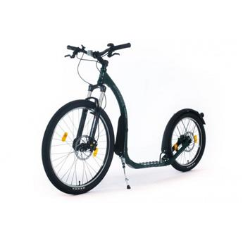 Trottinette Footbike KICKBIKE Cross Max 20HD+ Racing Green (hydraulic)