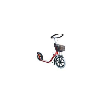Trottinette Footbike ESLA STEP 4100 RED + petit panier
