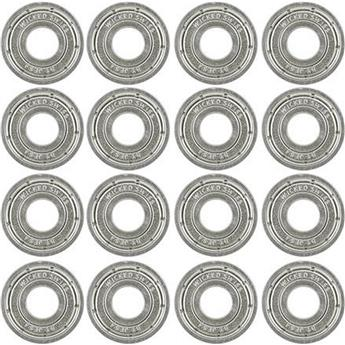 Roulements Roller Quad WICKED BEARINGS Swiss 608 pack 16