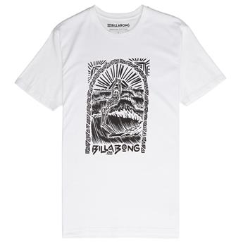 T-shirt BILLABONG dead walk 10 white