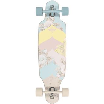 Skate Longboard DUSTERS CALIFORNIA wake bloom 34 blue off white