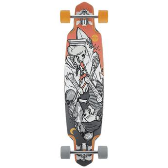 Skate Longboard DUSTERS CALIFORNIA kentaro 38 grey pink