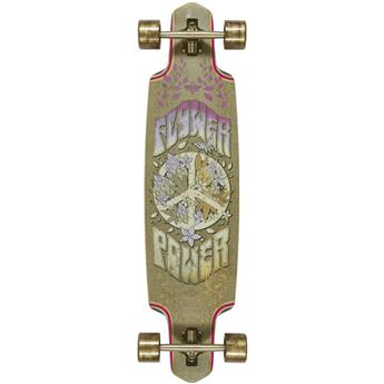 Skate Longboard DUSTERS CALIFORNIA flower power 38 hemp multi