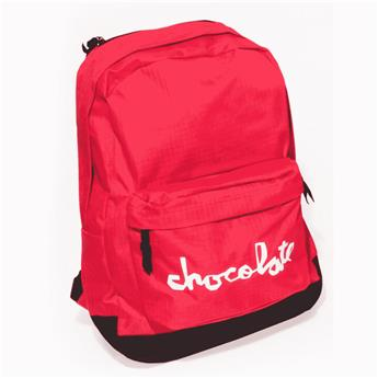 Sac à dos CHOCOLATE backpack chunk simple red