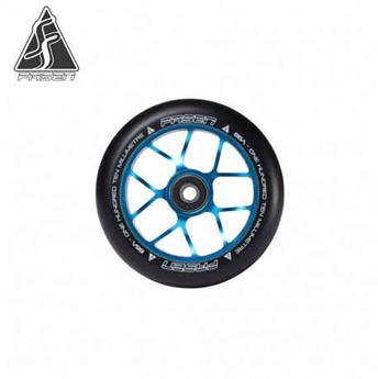 Roue trottinette freestyle FASEN jet 110 mm teal