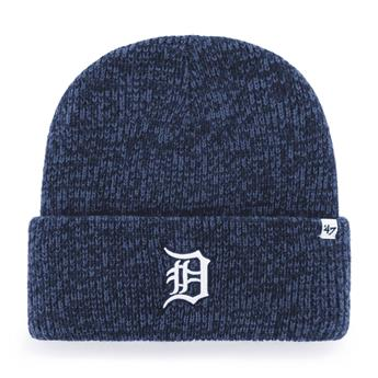 Bonnet 47 BEANIE MLB DETROIT TIGERS BRAIN FREEZE CUFF KNIT NAVY