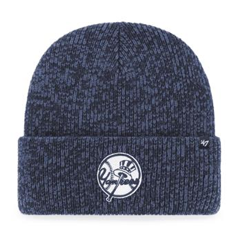 Bonnet 47 BEANIE MLB NEW YORK YANKEES BRAIN FREEZE CUFF KNIT NAVY