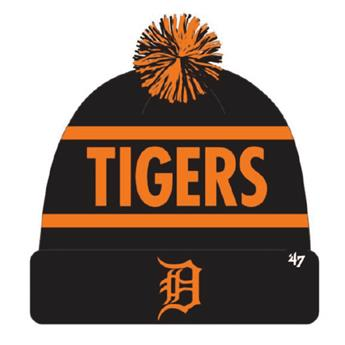 Bonnet 47 BEANIE MLB DETROIT TIGERS CALGARY CUFF KNIT BLACK