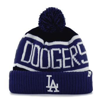 Bonnet 47 BEANIE MLB LOS ANGELES DODGERS CALGARY CUFF KNIT BLACK