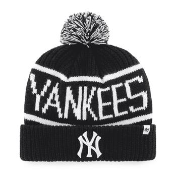 Bonnet 47 BEANIE MLB NEW YORK YANKEES CALGARY CUFF KNIT BLACK