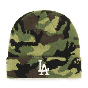 Bonnet 47 BEANIE MLB LOS ANGELES DODGERS GROVE CUFF KNIT CAMO