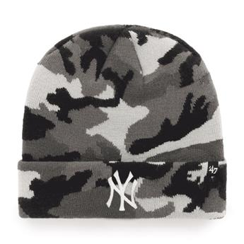 Bonnet 47 BEANIE MLB NEW YORK YANKEES GROVE CUFF KNIT GREY