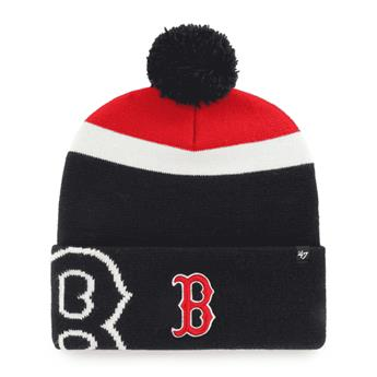 Bonnet 47 BEANIE MLB BOSTON RED SOX MOKEMA CUFF KNIT NAVY