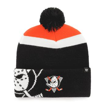 Bonnet 47 BEANIE NHL ANAHEIM DUCKS MOKEMA CUFF KNIT BLACK