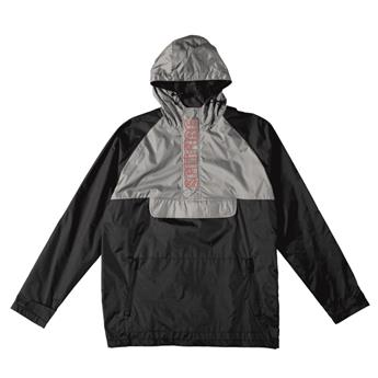 Veste SPITFIRE JACKET HOMBRE ANORAK BLACK GREY RED EMBROIDERIES