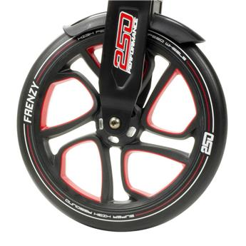 Roue trottinette FRENZY Wheels Red 250MM